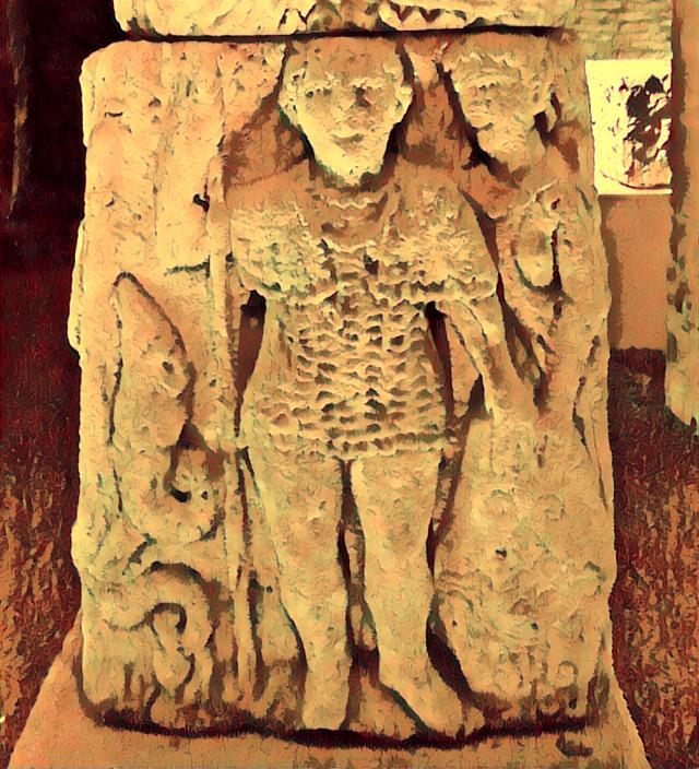 cotte de maille celte gauloise pilier de mavilly