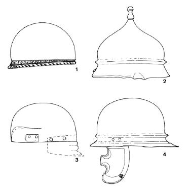 Typologies casques gaulois tène finale coolus mannheim rouvray port alesia celtique continental